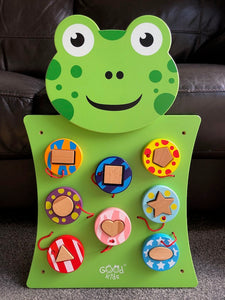 Wall Play Activity Centre Frog