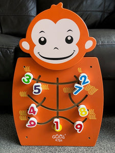 Wall Play Activity Centre Monkey