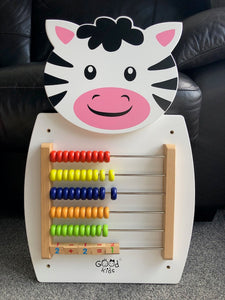 Wall Play Activity Centre Zebra