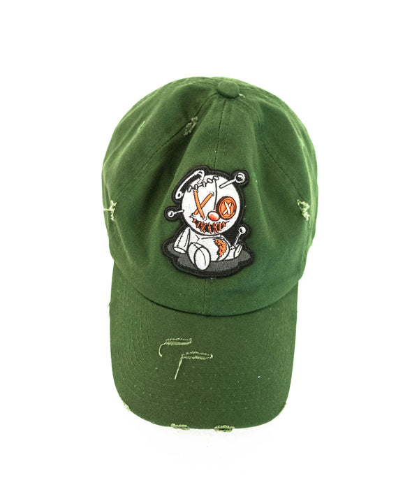 Green PinBear Dad Hat