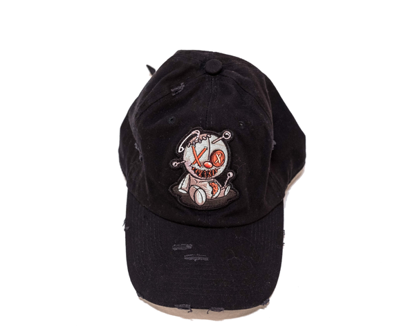 Black Vintage PinBear Dad Hat