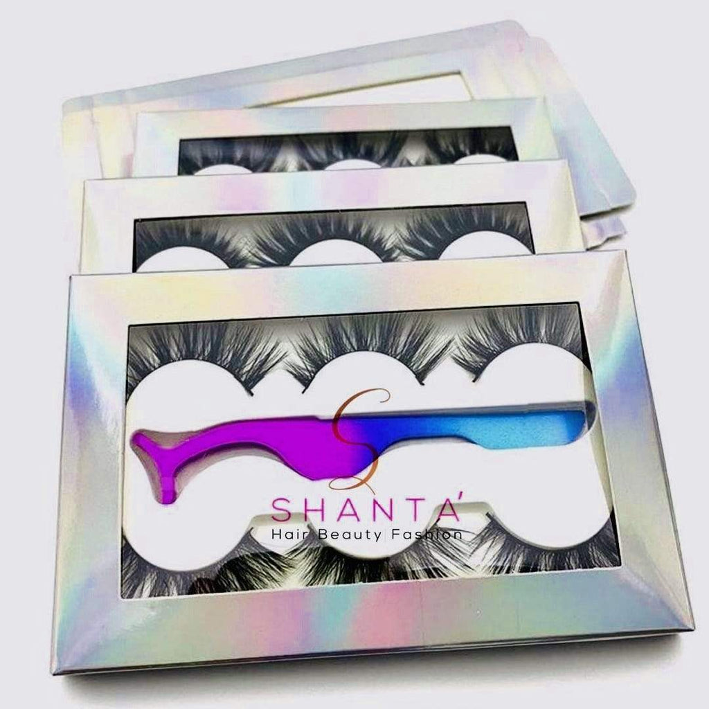Mink Eye Lash Multi-Set - Shanta' Hair Beauty Fashion