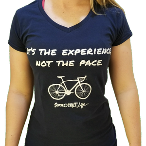 """It's the Experience, Not the Pace"" V-Neck"