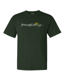Sprocket Life Mountain Logo Tee