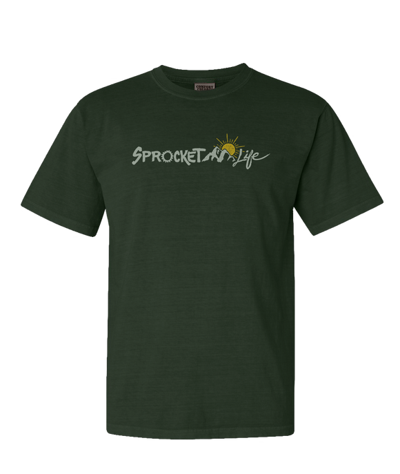 Sprocket Life Mountain Logo - Adult Crew Neck