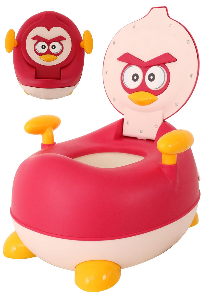 Children Red Angry Bird Potty Chair Kids Toilet Training Seat (BAY0110MR)