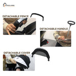 Ergonomic Hipseat Baby Carrier Breathable Soft Carrier Backpack Pocket (BAY0068)