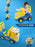 Children Minions Ride On Car Music Steering Kids Push Car Toys with Storage (TOY0069)