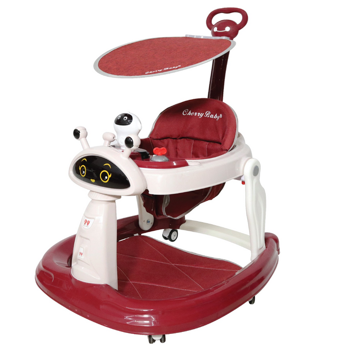 New Version Baby Walker Wide Base Foldable  (BAY0083)