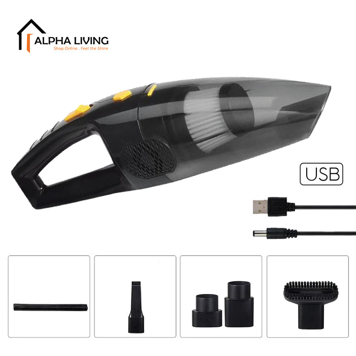 Portable Handheld Car Vacuum Cleaner Household Vacuum Cleaner 120 W Dry Wet Vacuum (CAR0073)