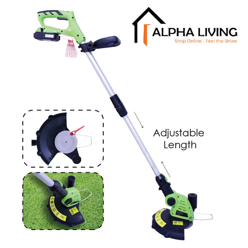 20V Cordless Grass Trimmer, Electric Lawn Mower, Grass Cutter, Gardening Tools (HDT0014)