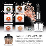 Giselle Hand Blender Full Set with Malaysia Plug 600W Food Processor + Add on Dry Grinder