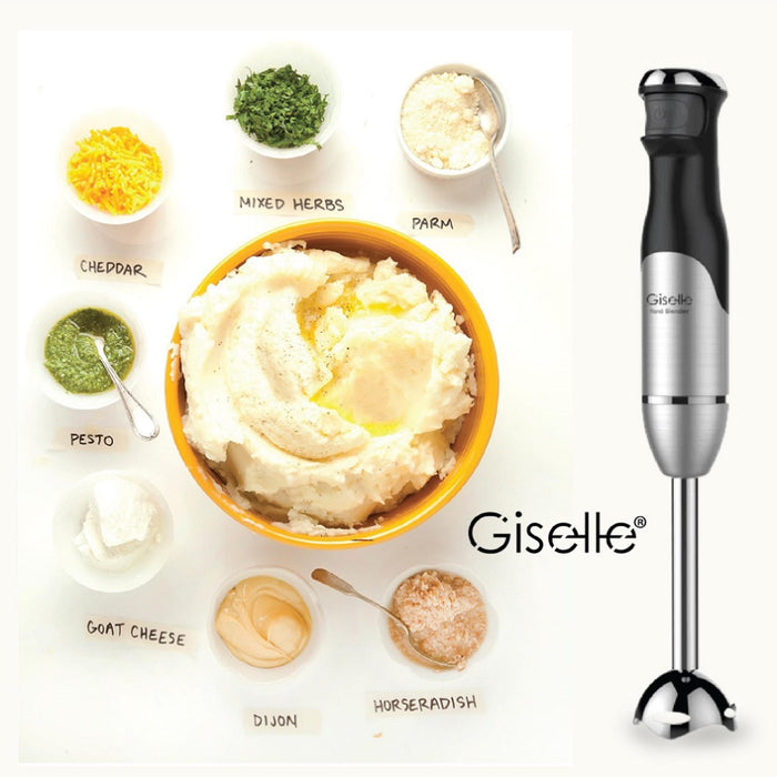 Giselle Hand Blender Full Set with Malaysia Plug 600W (KEA0188)