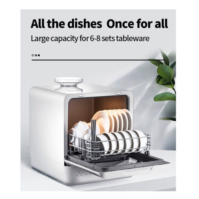 Giselle Table Top Dishwasher - English Panel with Malaysia 3 pin plug (KEA0205)