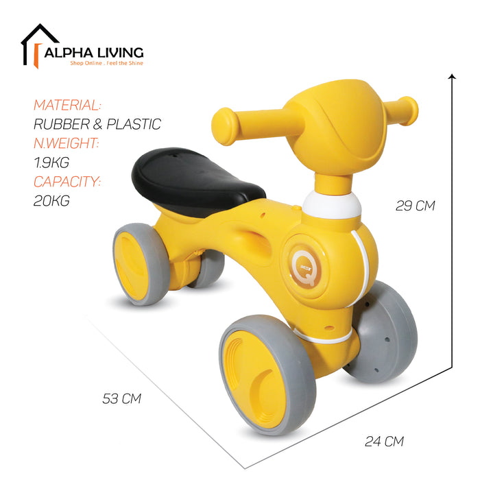 NEW Mini Balance Bike for Baby & Toddlers (TOY0102)