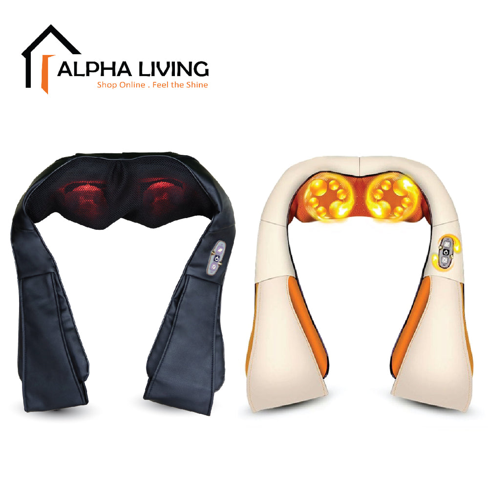 Neck & Back Massager with Heat Kneading Body Massage Pillow With Heat (HEA0005)