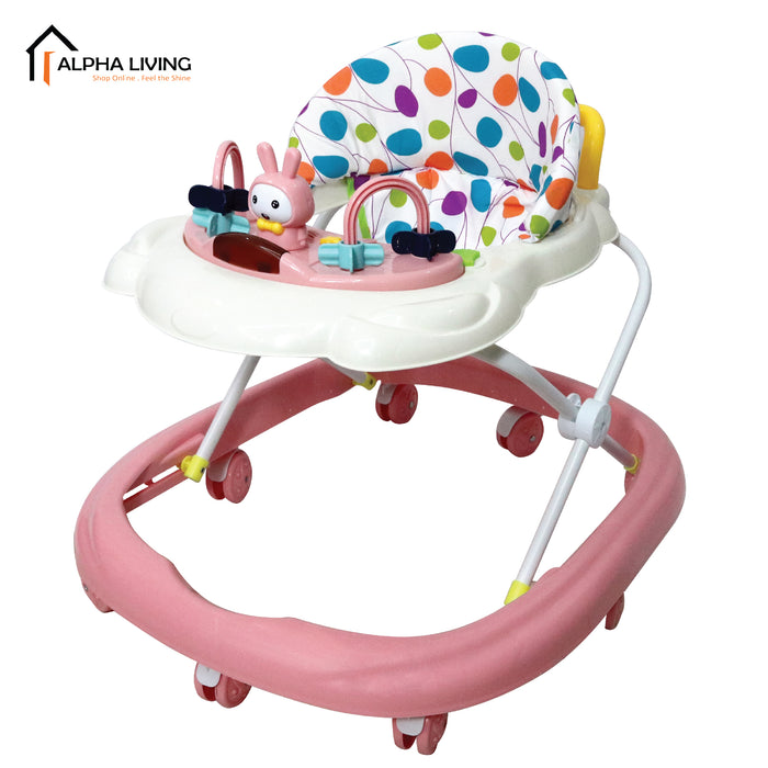 Simple and Compact Foldable Travel Baby Walker with Music (BAY0087)