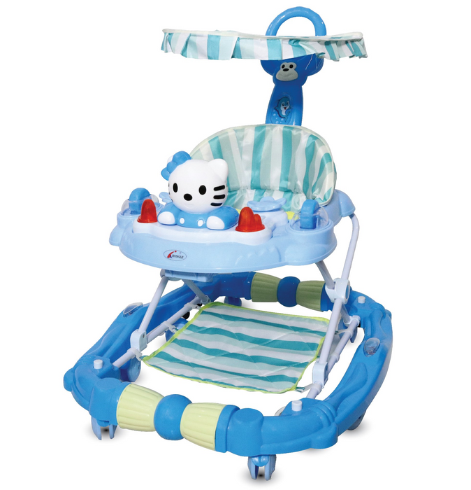 Multifunctional Baby Walker with Detachable Roof and Handle Bar (BAY0085)