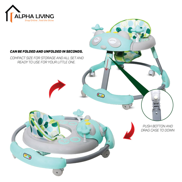 Foldable Baby Walker with Music (BAY0088)