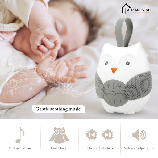Stroll & Go Portable Baby Sleep Soother, Owl (BAY0093)