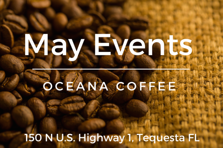 OCEANA #COFFEECALENDAR MAY 2017