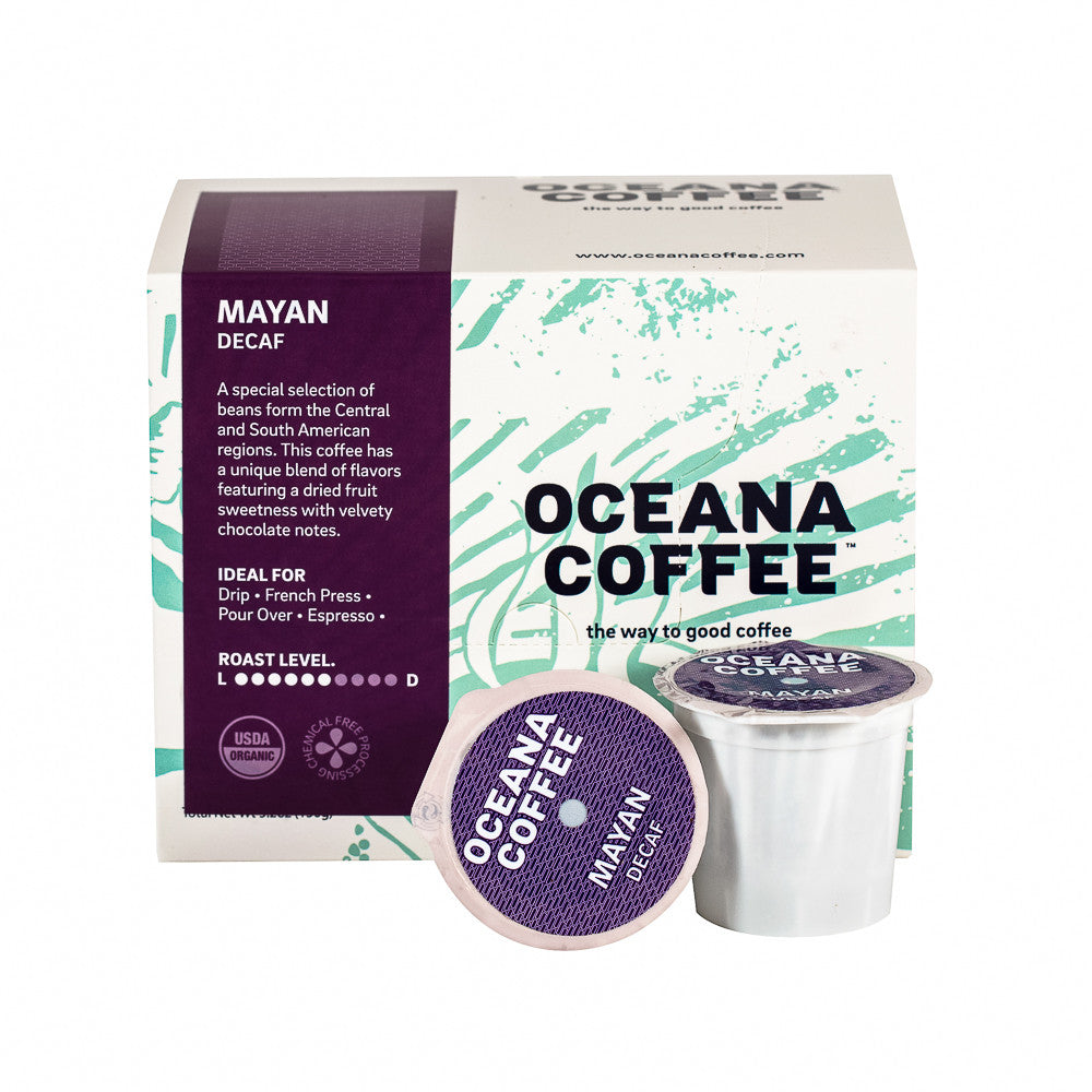 SINGLE SERVE K-CUPS FRESH ROASTED COFFEE (12PK) by OCEANA