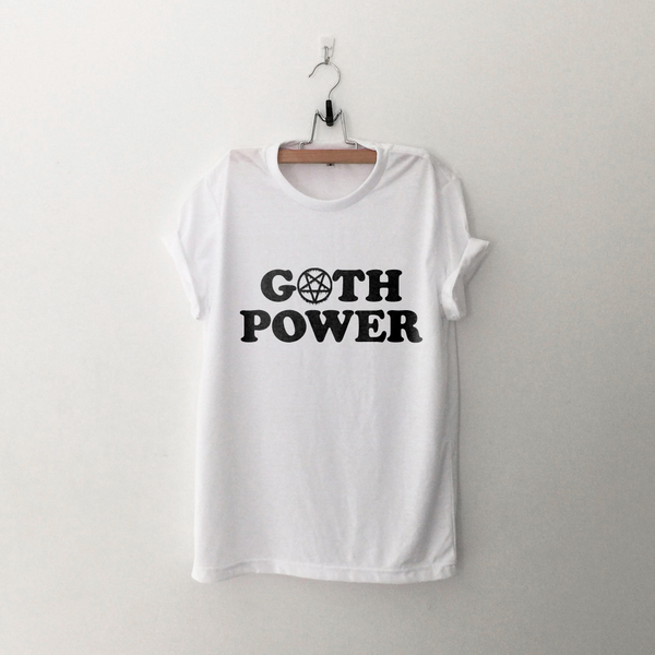 Ladies Goth Power Tee
