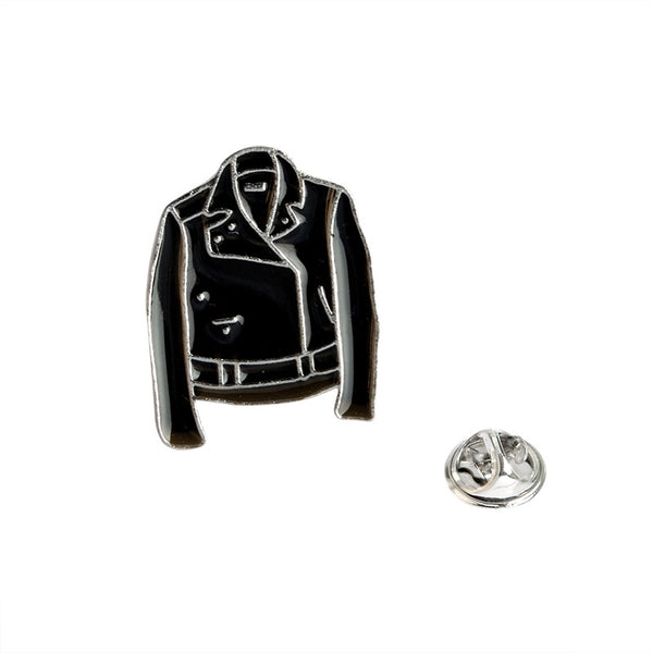 Leather Jacket Enamel Pin