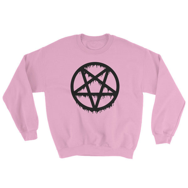 Pentagram Crewneck in Pink