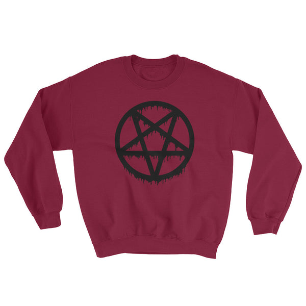 Pentagram Crewneck in Purple