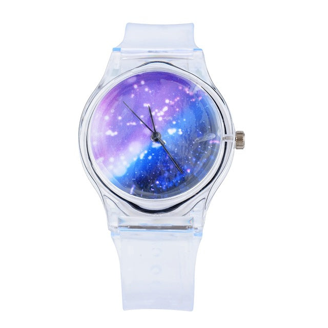 Pastel Galaxy Watch