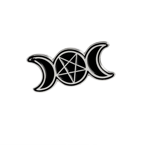 Triple Goddess Enamel Pin