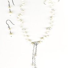 Baroque Freshwater Pearls and Crystals Necklace