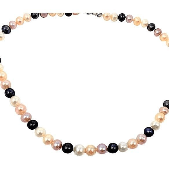 Akoya Pearls South Sea Multi Color Necklace