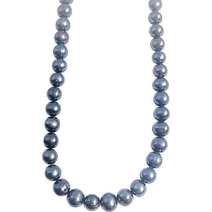 Black South Sea Cultured Pearls Necklace