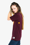 Yolk on Burgundy Classic - Tシャツ - Trendsplant サーフブランド