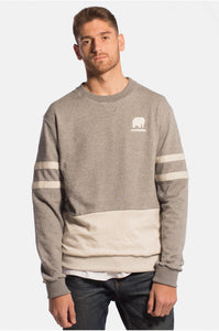 The 70.30 Sweater Heather Grey - セーター - Trendsplant サーフブランド