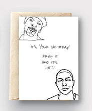 Printable Card Download - Happy Birthday/Drop it Like it's Hot
