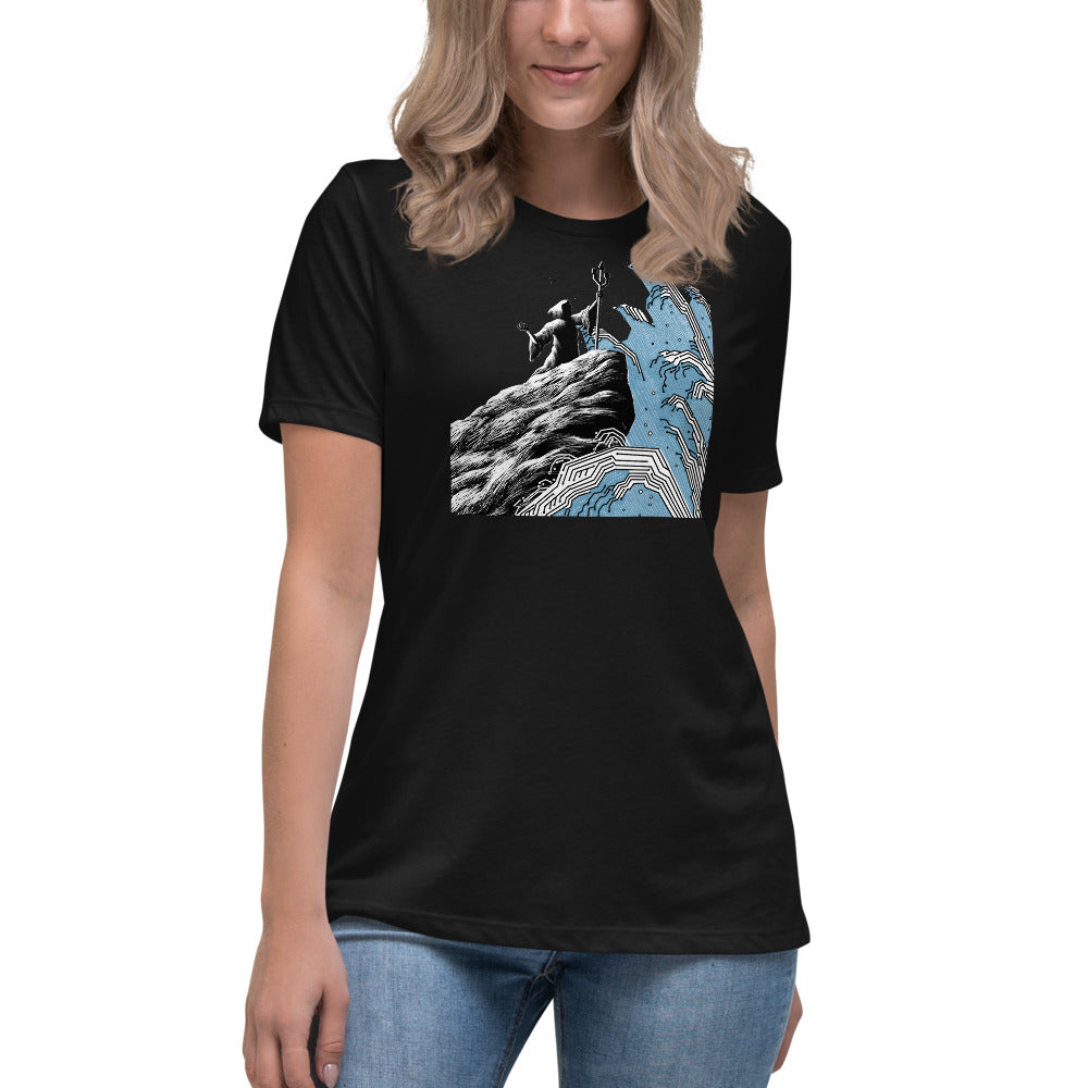 Water Wizard Women's Relaxed T-Shirt