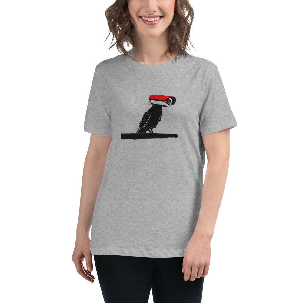 Surveillance Raven Women's Relaxed T-Shirt