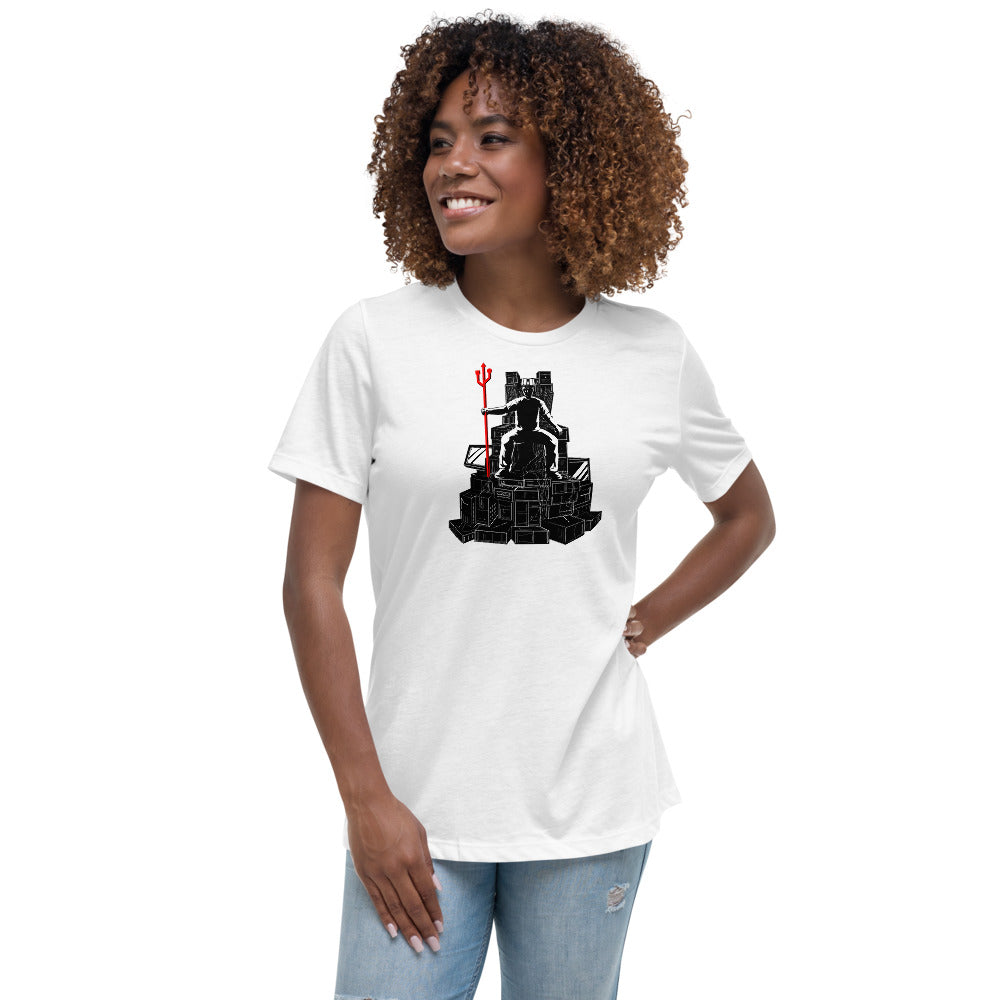 King of Computers Women's Relaxed T-Shirt