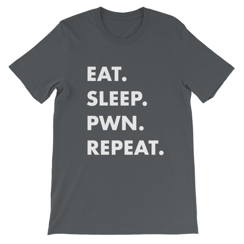 Eat Sleep Pwn Repeat t-shirt