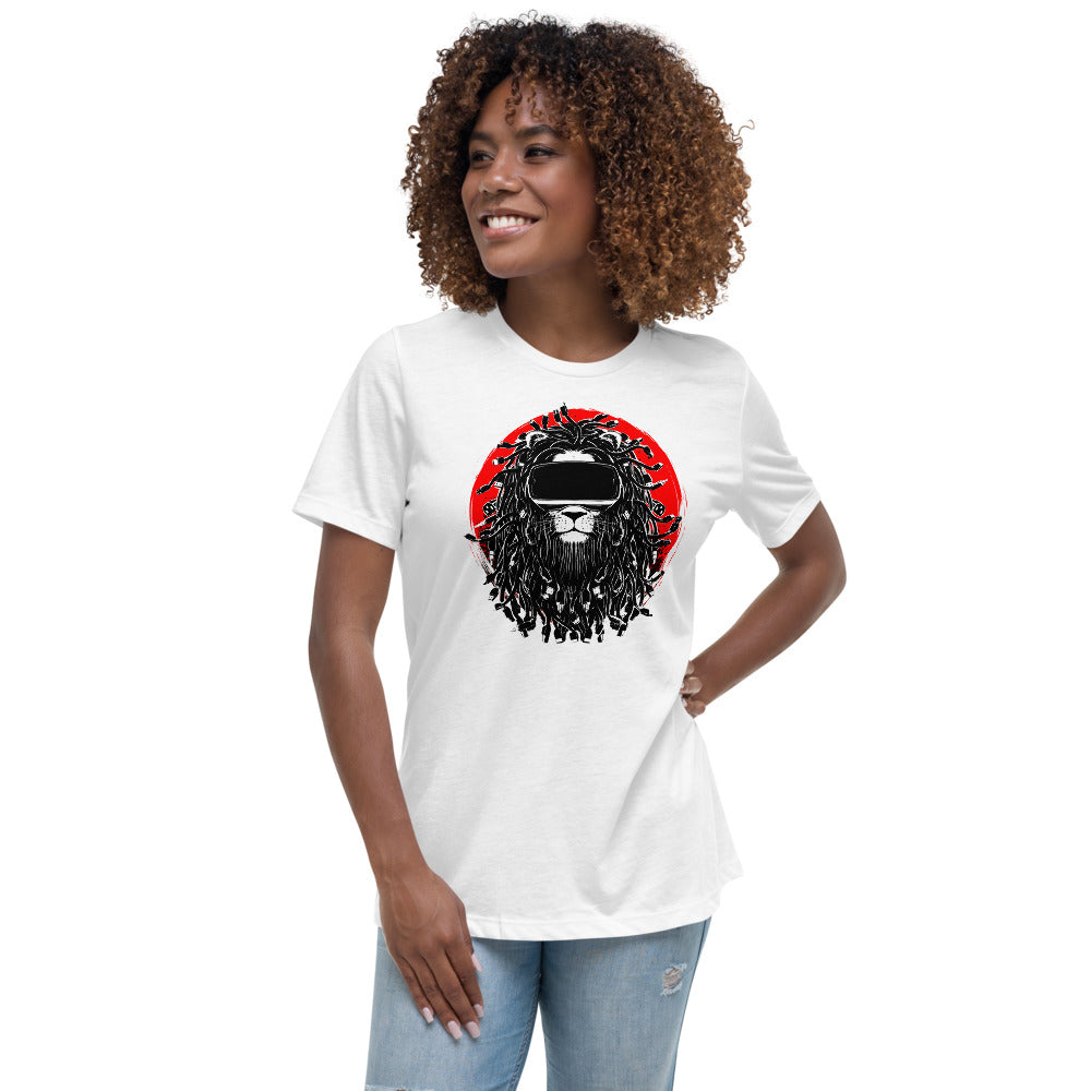 King of the Cyber Jungle Women's Relaxed T-Shirt
