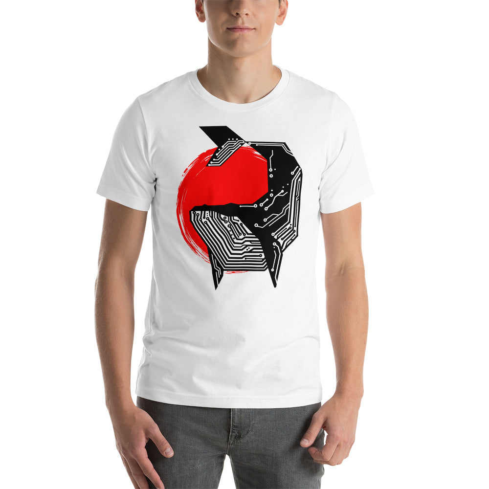 High Tech Whale Short-Sleeve Unisex T-Shirt