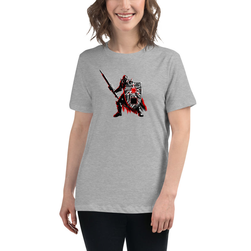 Cyber Warrior Women's Relaxed T-Shirt