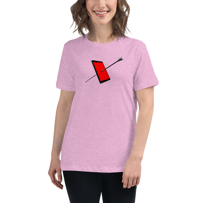 Pierced By Arrow Women's Relaxed T-Shirt
