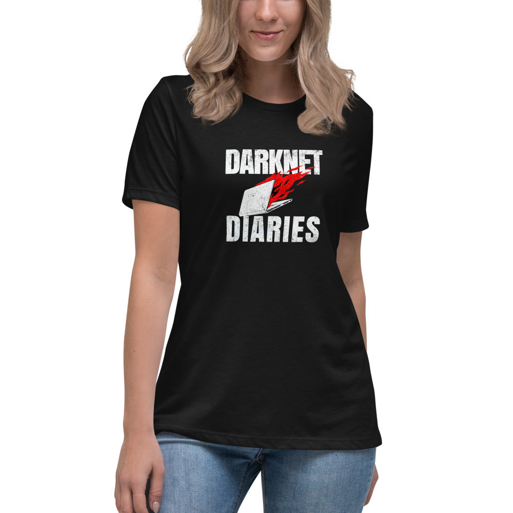 Darknet Diaries Women's Relaxed T-Shirt