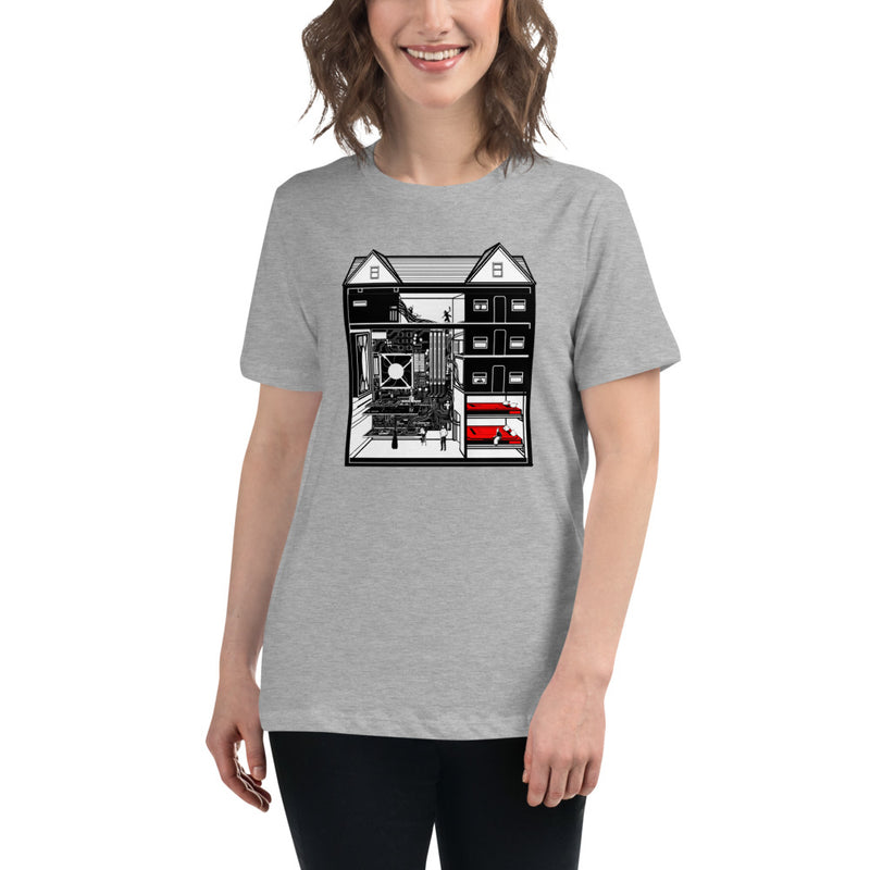 My Technical Machine Home Women's Relaxed T-Shirt