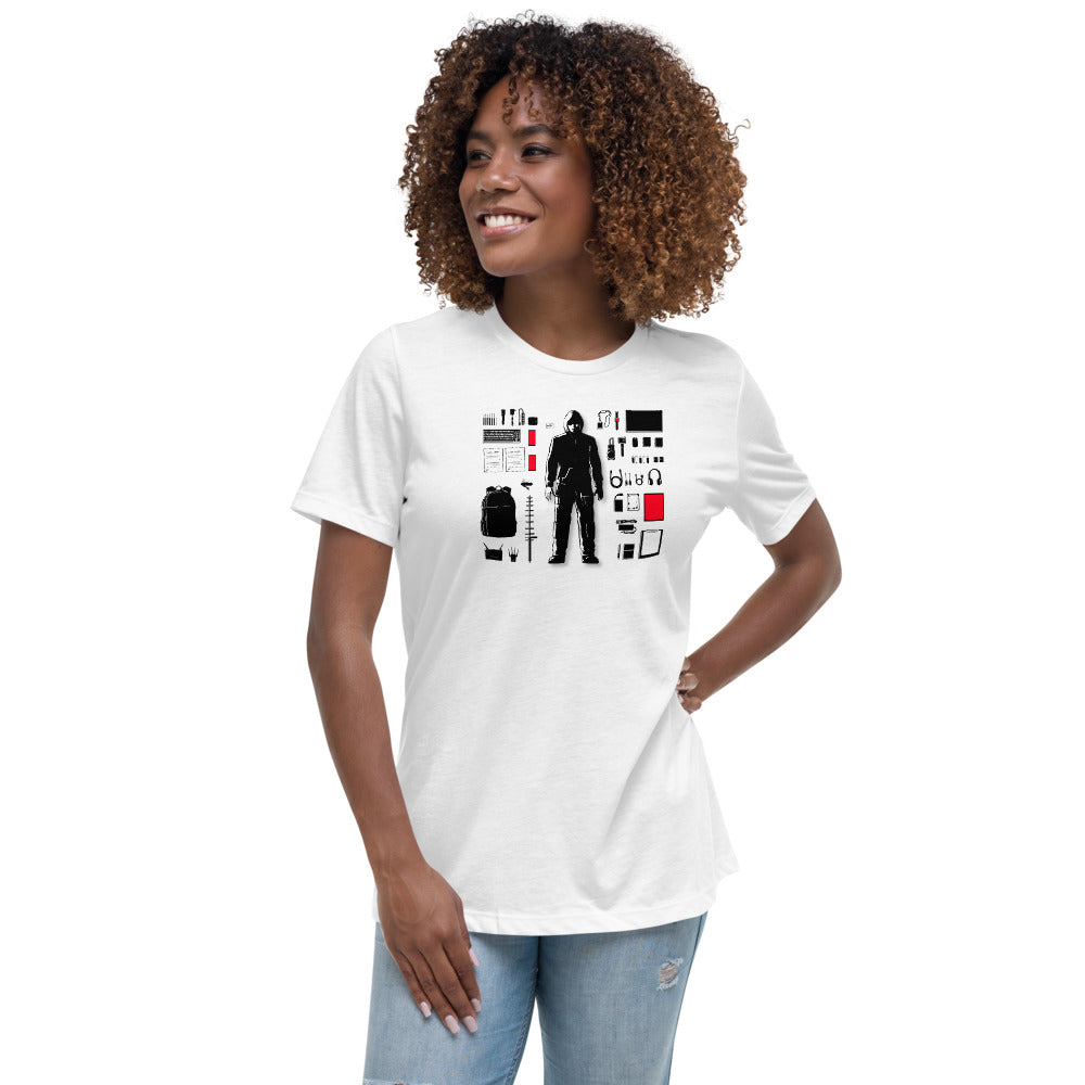 Hacker Tetris Women's Relaxed T-Shirt