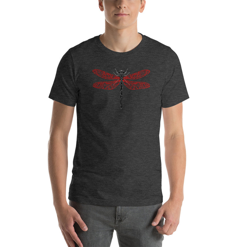 Electric Dragonfly Short-Sleeve T-Shirt